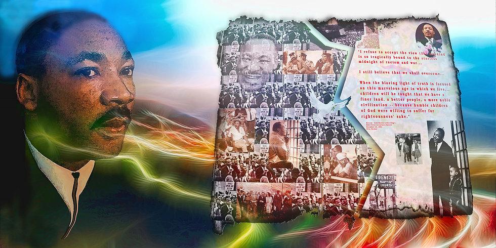 MLK Memorial  Collage