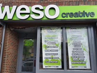 Weso Creative design studio opens in Queens Village, NY.
