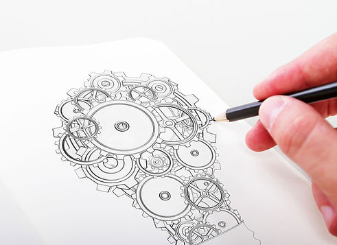 Cogs and a Pencil