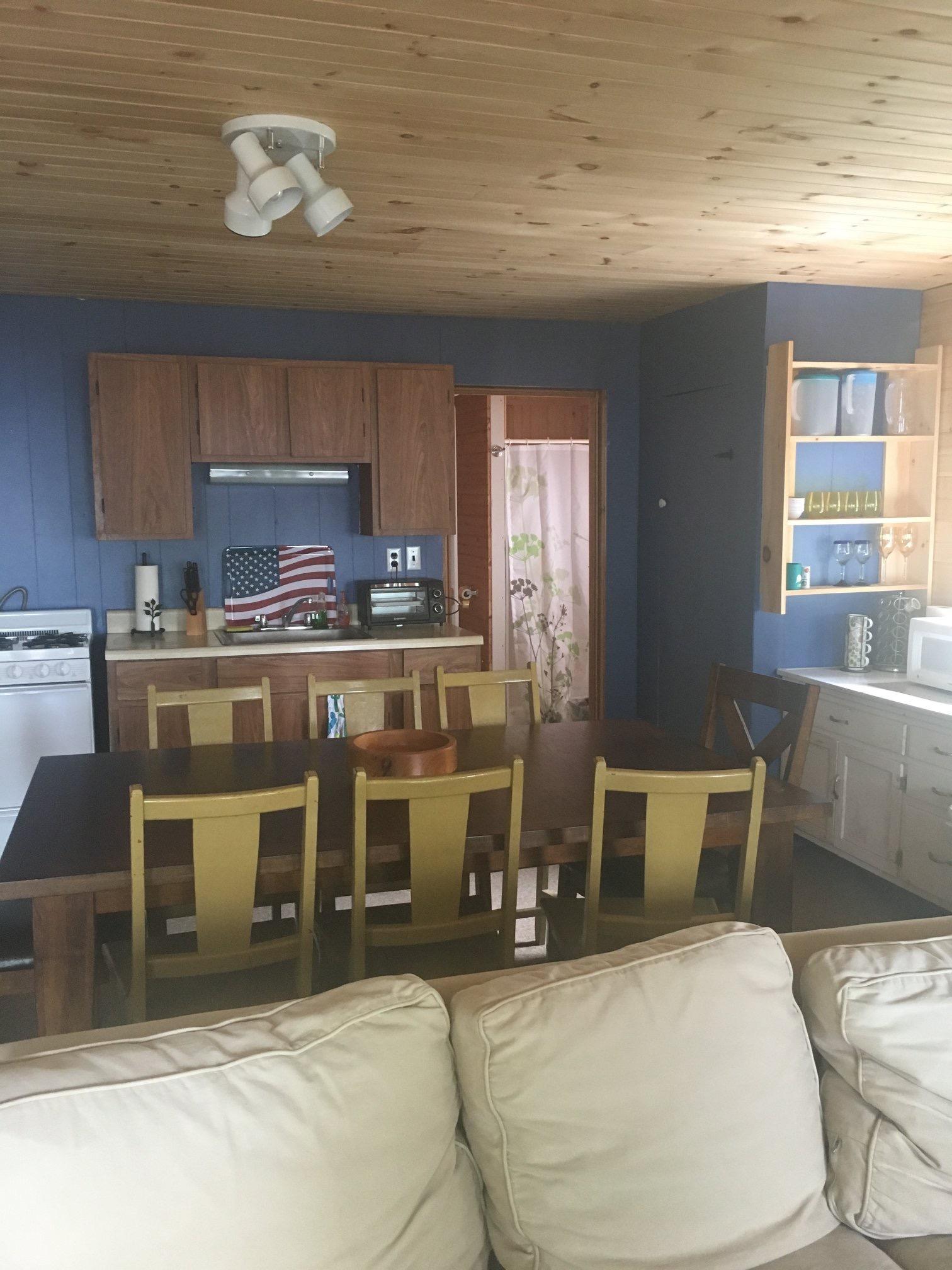 Cabin 12 Kitchen