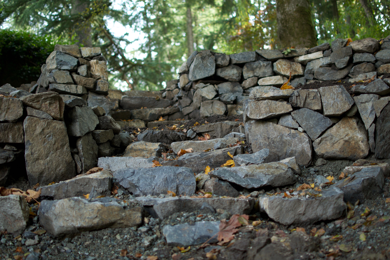 Retaining Wall, Victoria BC, Lennox Maso