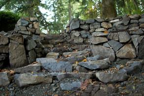 Retaining Wall, Victoria BC, Lennox Masonry
