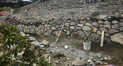 Stone Retaining Walls, Lennox Masonr