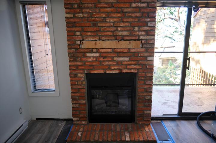 Lennox Masonry, Brick Fireplace, Victoria. BC