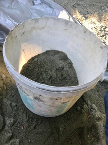 Mixing Natural Hydraulic Lime Mortar