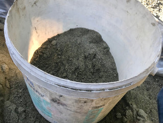 Mixing Natural Hydraulic Lime Mortar