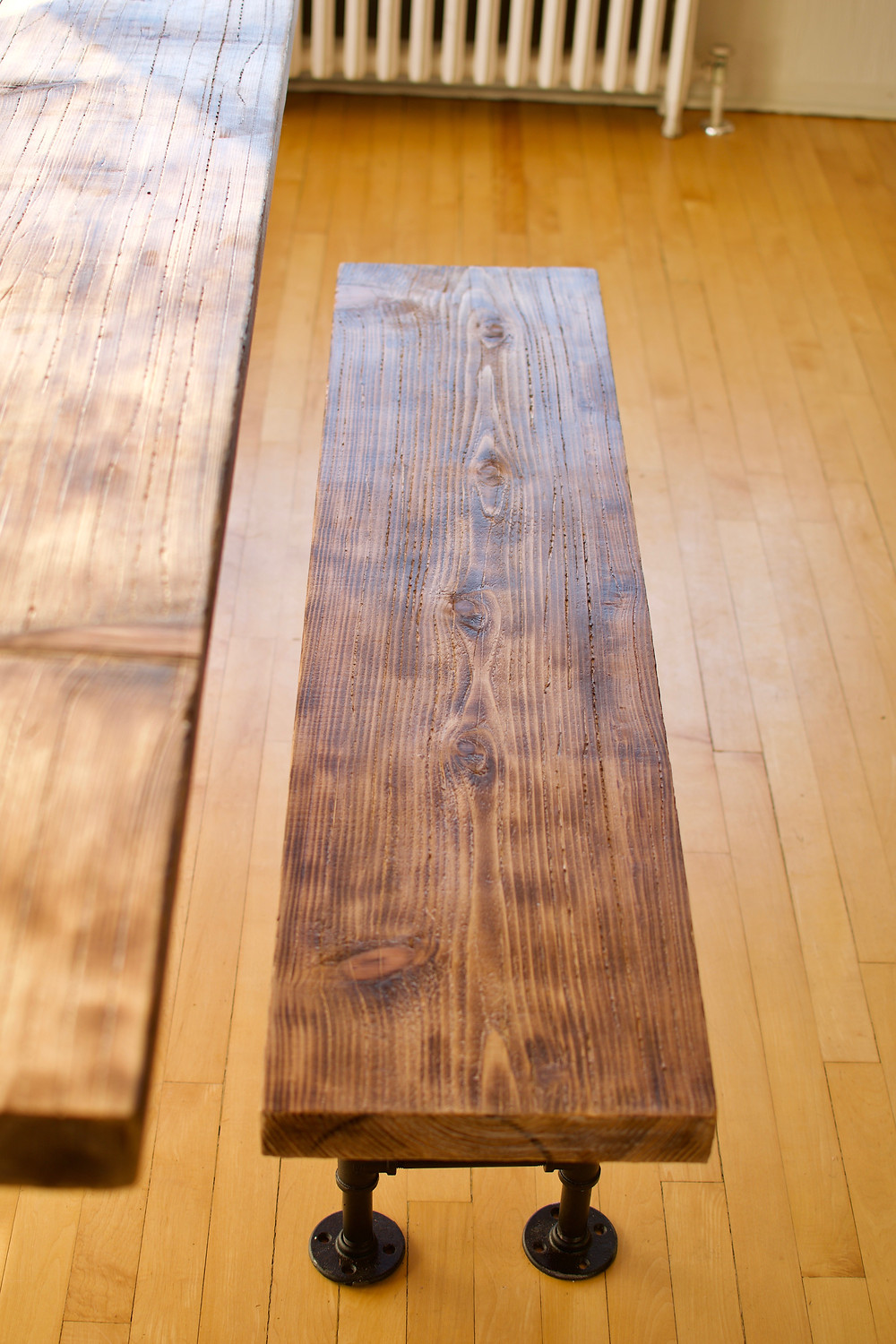 Rustic Bench and Dining Table, Victoria BC, Handyman, Contractor