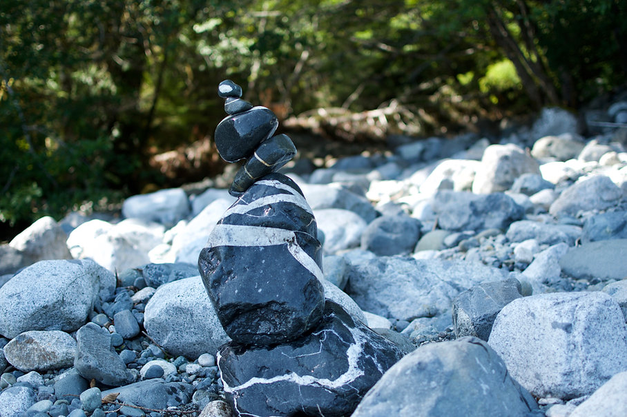 Stone Cairn, Lennox Masonry, Victoria BC