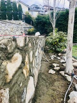 Stone Retaining Walls, Lennox Masonry, Victoria, BC, 3