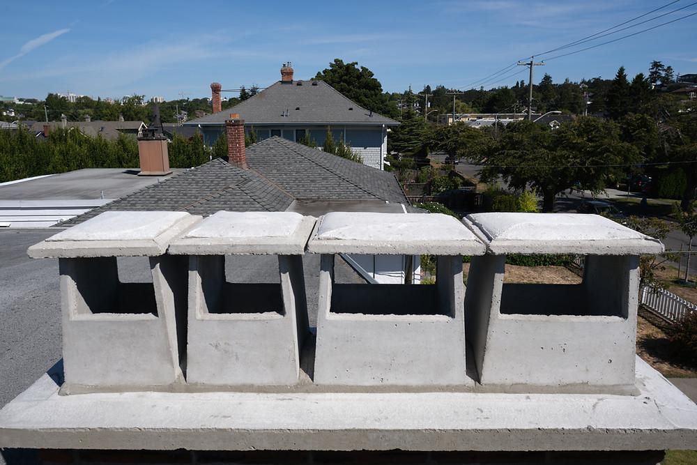 Chimney Pots, Lennox Masonry, Victoria BC