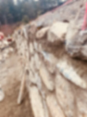 Stone Retaining Walls, Victoria, BC, Lennox Masonry