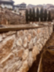 Stone Retaining Walls, Victoria BC