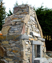Age-Old Techniques, New-Age Design: The Building Of A Giant Stone Fireplace