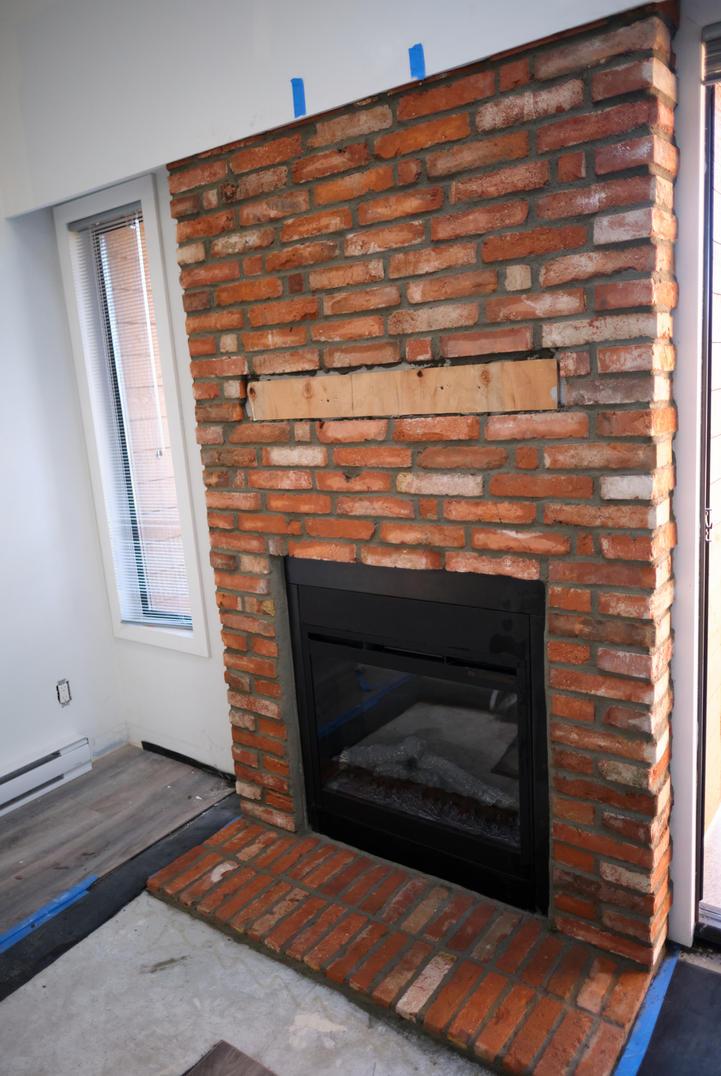 Masonry, Victoria BC, Brick Fireplace, Lennox Masonry