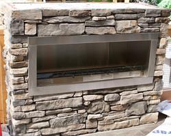 Stone Fireplace, Victoria BC