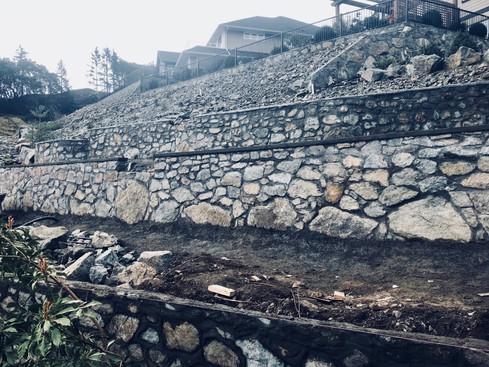 Stone Walls, Victoria BC, Lennox Masonry