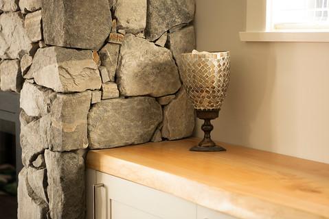 Lennox Masonry, Victoria BC, Stone Fireplace