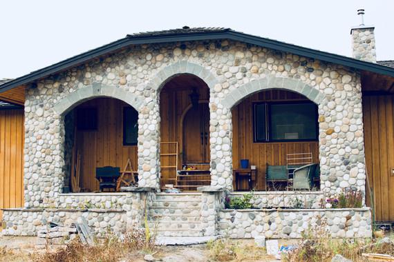 Stone House, Victoria BC, Masonry Contractor, Lennox Masonry