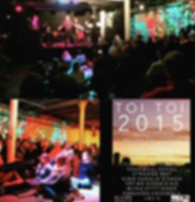 Toi Toi 2015, Helios Collective, July 20th 1944, opera club night
