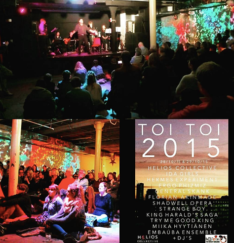 Toi Toi 2015, Helios Collective, July 20th 1944, opera club night