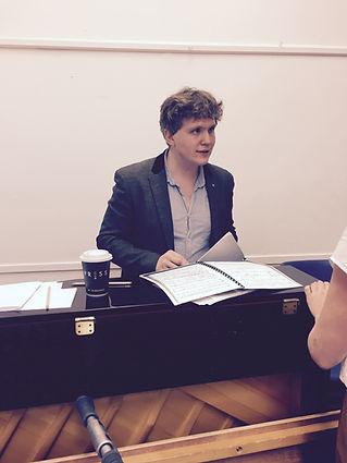 Noah Mosley rehearsal shot