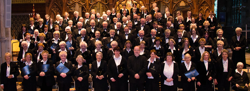 Grantham Choral Society's Members