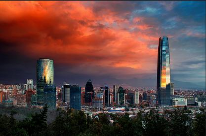Santiago de Chile, Şili