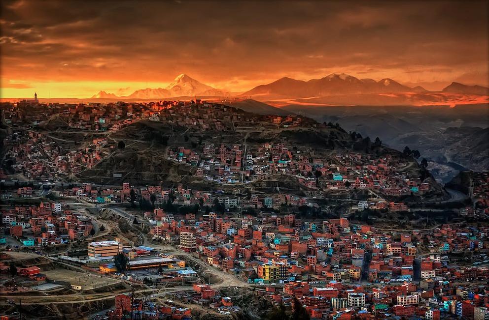 La Paz, Bolivya