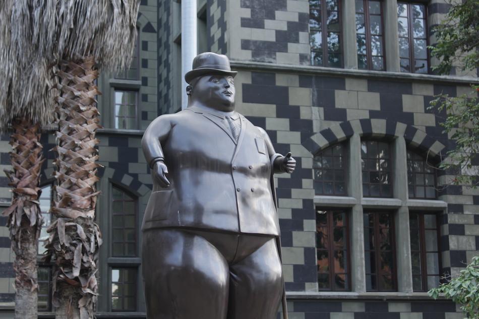 Fernando Botero Parkı kesinlikle uğranılması gerek bir nokta.  / Foto: Lucila Runnacles