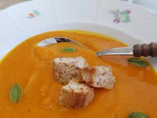 Hokaido polévka se zázvorem a chilli