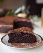 Cizrnový čoko dort