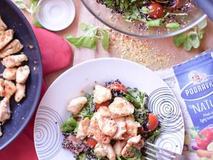 Quinoa salát ve sladko-kyselém nálevu