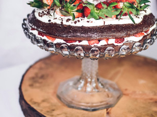 Jahodový dort s nadýchaným krémem