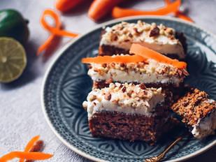 Mrkvový dortík bez mouky