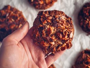 Mega ořechové sušenky