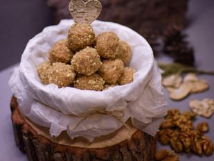 Ořechové nepečené kuličky