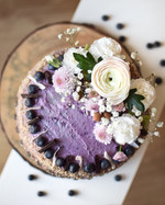 Svěží dort z lesního ovoce
