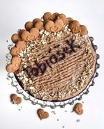 Kešu dort bez cukru, lepku a laktózy