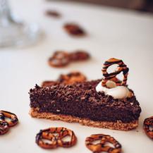 Čoko dort z preclíků