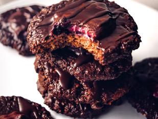 Čokoládové sušenky s překvapením