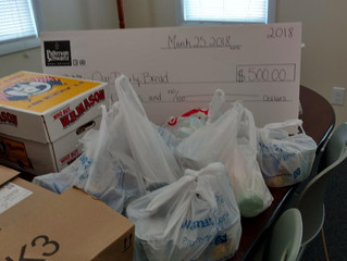 Shannon Cove Community Donates to Our Daily Bread