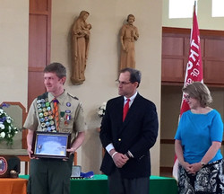 Eagle Scout Award Ceremony