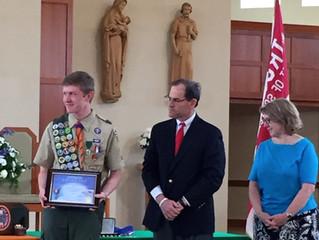 Ben Shackelford Earns Eagle Scout Award