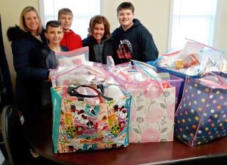 MOT Charter  ---> Donates Manna Bags