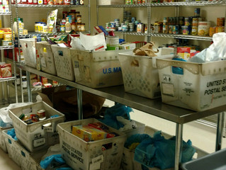 St Vincent de Paul Society and US Postal System Food Donation to ODB
