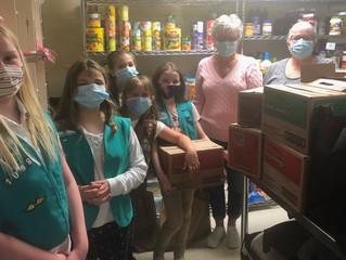 Thank You Girl Scout Troop 1098!