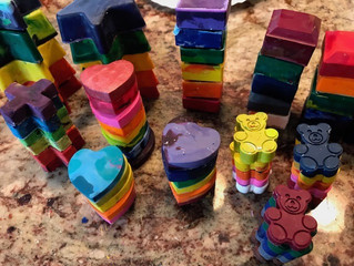 Recycled Crayon Donation