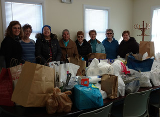 Springmill Group Supports ODB with Food Drive and Cash Donations