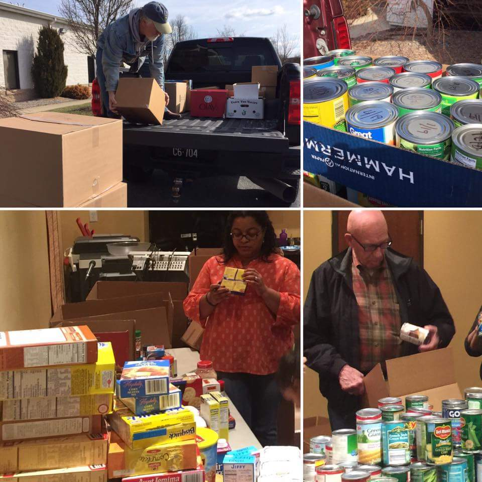 Love of Christ Church Donates over 1,200 LBS of Food
