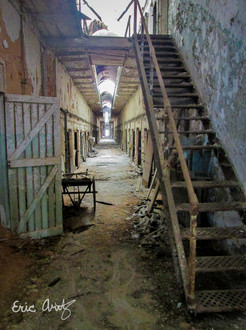 Abandoned Penitentiary Wing